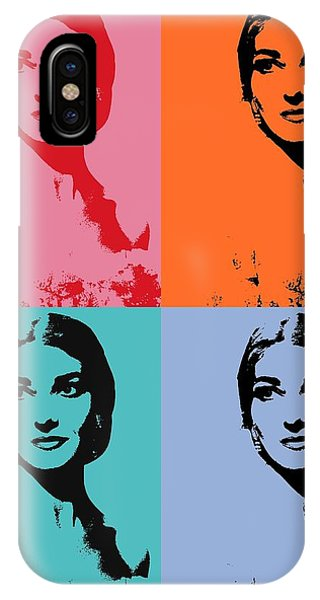 Maria Callas Pop Art Panels IPhone Case