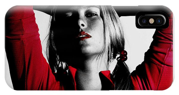 Maria Sharapova Red Hot IPhone Case