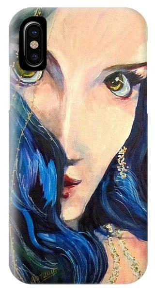 Mariah Blue IPhone Case