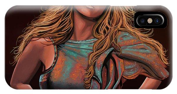 Hit iPhone Case - Mariah Carey Painting by Paul Meijering