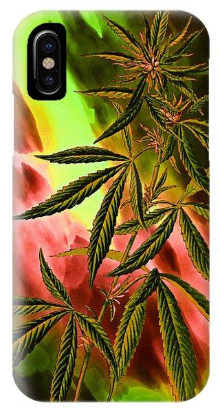 Marijuana Cannabis Plant IPhone Case