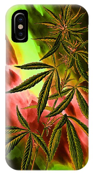 Marijuana Cannabis Plant IPhone Case