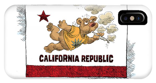 Marijuana Referendum In California IPhone Case