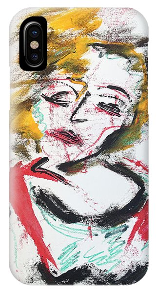 Marilyn Abstract IPhone Case