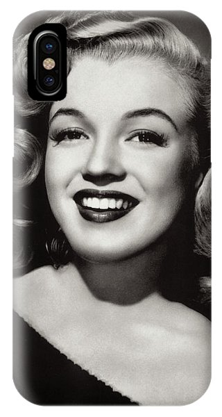 Leading Actress iPhone Case - Marilyn Ingenue by Daniel Hagerman