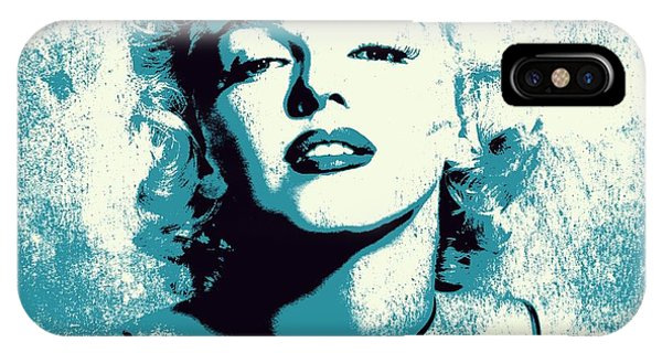 Actor iPhone Case - Marilyn Monroe - 201 by Variance Collections
