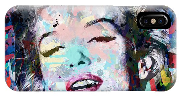 Dive iPhone Case - Marilyn Monroe  9 by Mark Ashkenazi