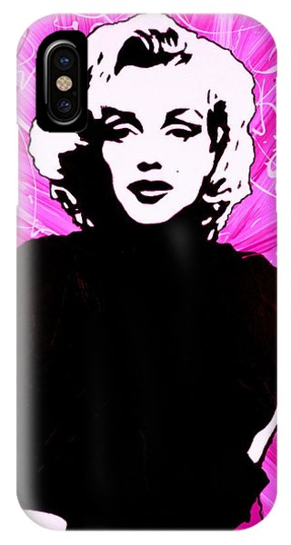 Marilyn Monroe In Hot Pink IPhone Case