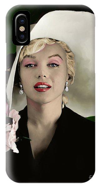 Actor iPhone Case - Marilyn Monroe by Paul Tagliamonte