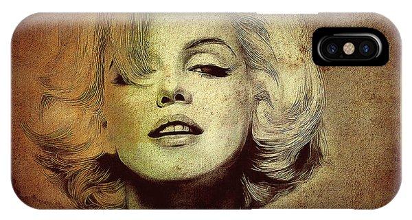 Marilyn Monroe Star IPhone Case