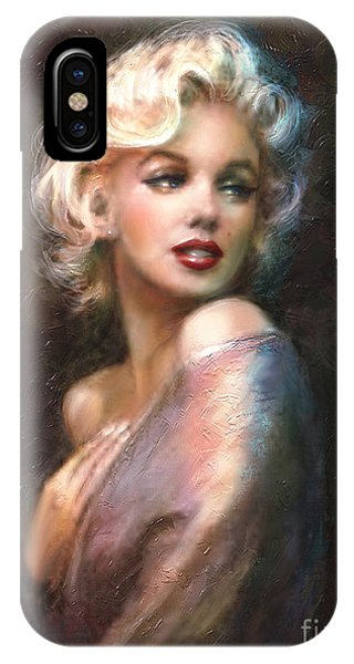 Actor iPhone Case - Marilyn Romantic Ww 1 by Theo Danella