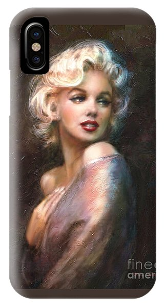 Hollywood iPhone Case - Marilyn Romantic Ww 1 by Theo Danella