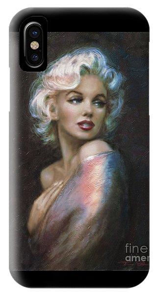 Marilyn Romantic Ww 4 Blue IPhone Case
