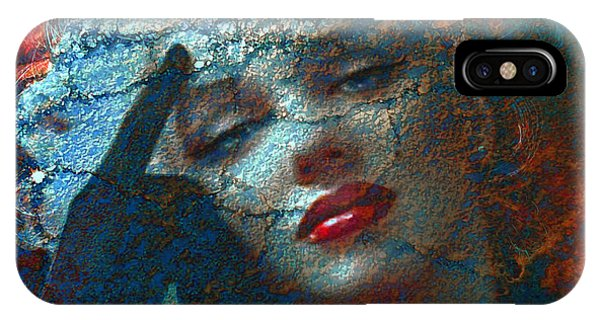 Dive iPhone Case - Marilyn Str. 1 by Theo Danella