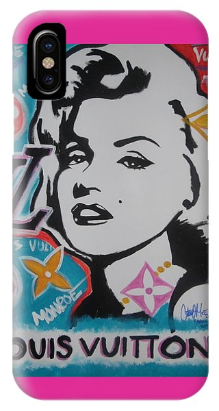 Marilyn Vuitton IPhone Case