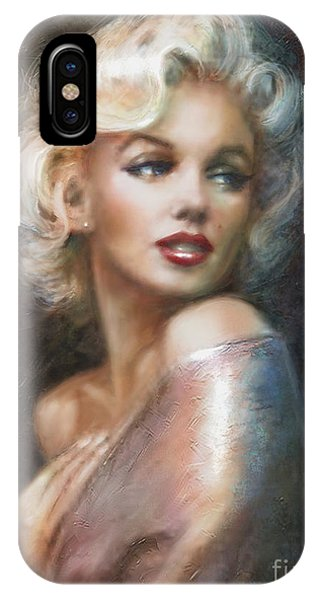 Dive iPhone Case - Marilyn Ww Soft by Theo Danella