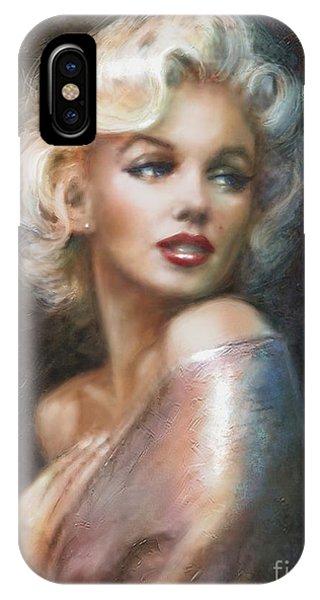Blond iPhone Case - Marilyn Ww Soft by Theo Danella