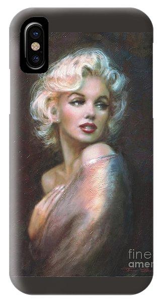 Blond iPhone Case - Marilyn Ww  by Theo Danella