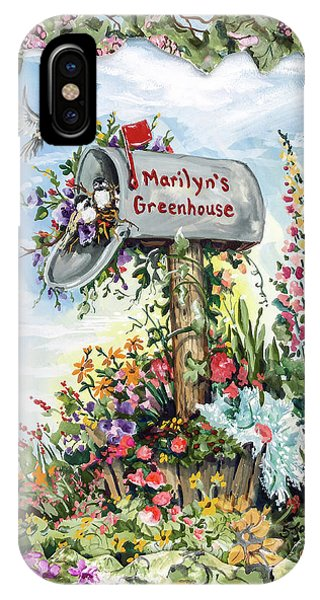 Marilyn's Greenhouse IPhone Case