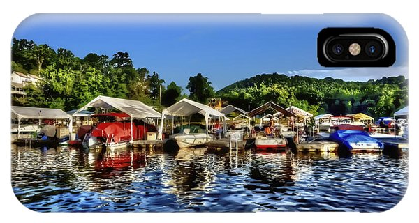 Marina At Cheat Lake Clear Day IPhone Case