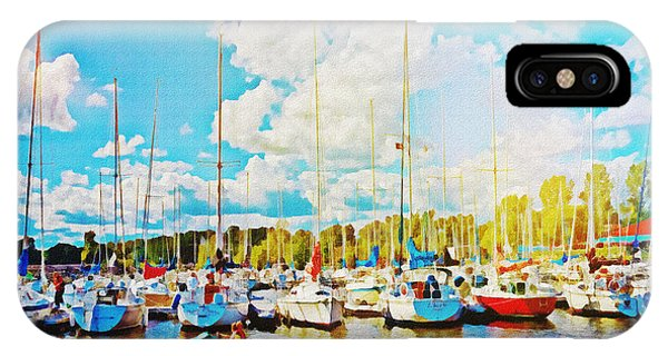 Marina In The Summertime IPhone Case