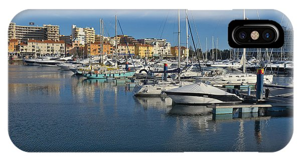 Marina Of Vilamoura At Afternoon IPhone Case