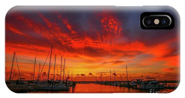 Marina Sunrise - Ft. Pierce IPhone Case