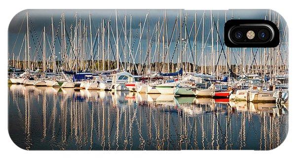 Marina Sunset 4 IPhone Case