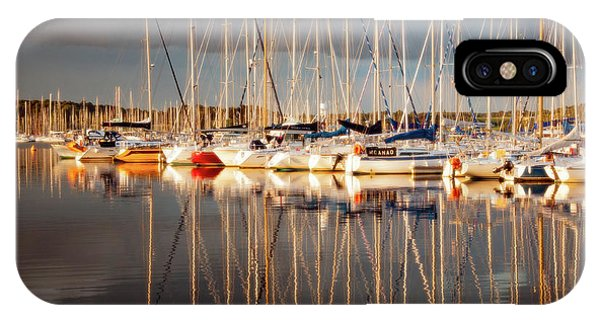 Marina Sunset 6 IPhone Case