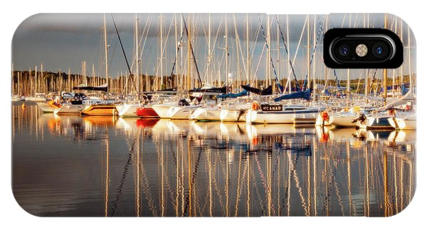 IPhone Case featuring the photograph Marina Sunset 6 by Geoff Smith