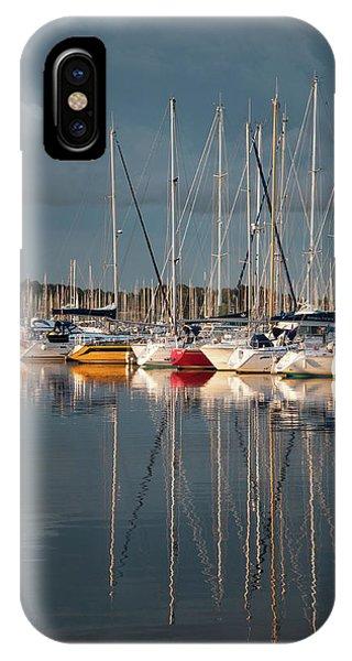 Marina Sunset 8 IPhone Case
