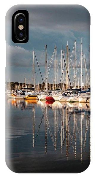 Marina Sunset 9 IPhone Case