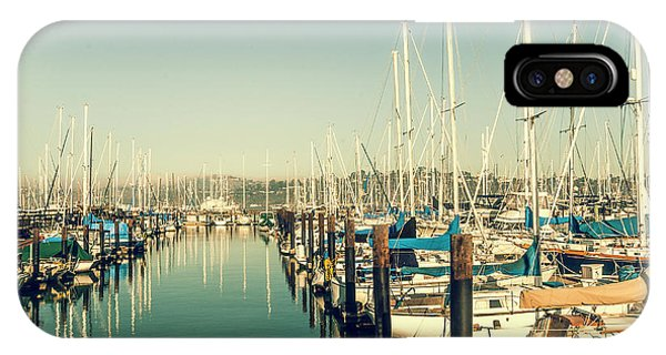 Marinaside Sausalito California IPhone Case