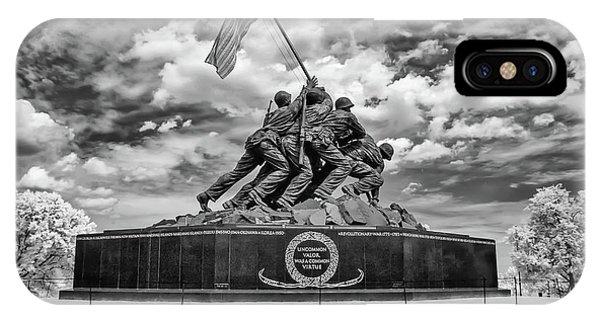 Marine Corps War Memorial IPhone Case