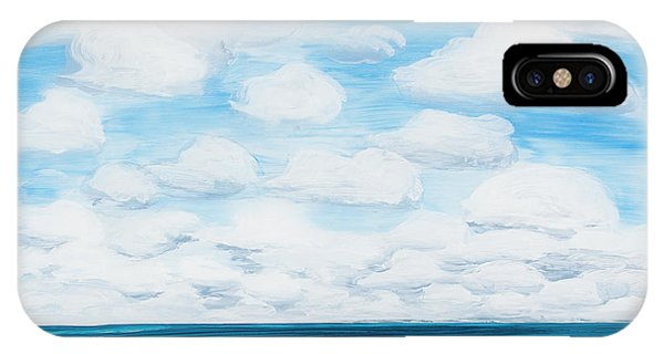 Marine Layer Breaking Up IPhone Case