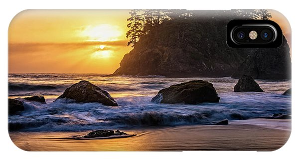 Marine Layer Sunset At Trinidad, California IPhone Case