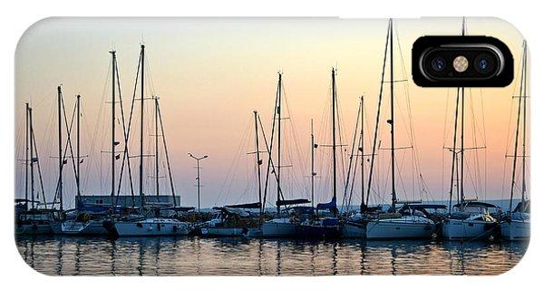Marine Reflections IPhone Case