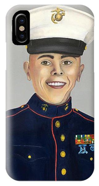 Marine Sergeant  IPhone Case