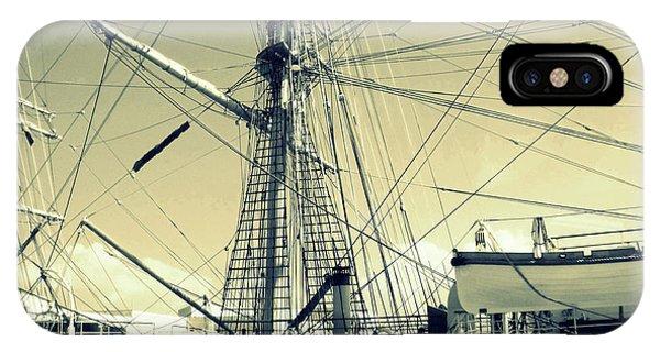 Maritime Spiderweb IPhone Case