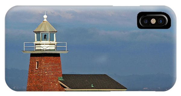 Santa Cruz Surfing iPhone Case - Mark Abbott Memorial Lighthouse California - The World's Oldest Surfing Museum by Christine Till