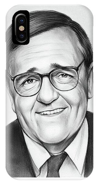 Political iPhone Case - Mark Shields by Greg Joens