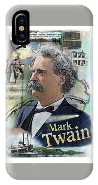 Mark Twain IPhone Case