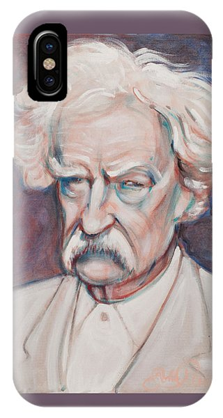Mark Twain IPhone Case