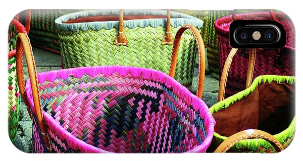 Market Baskets - Libourne IPhone Case
