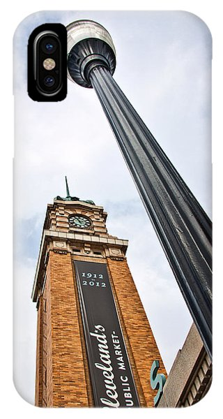 Market Clock Tower IPhone Case