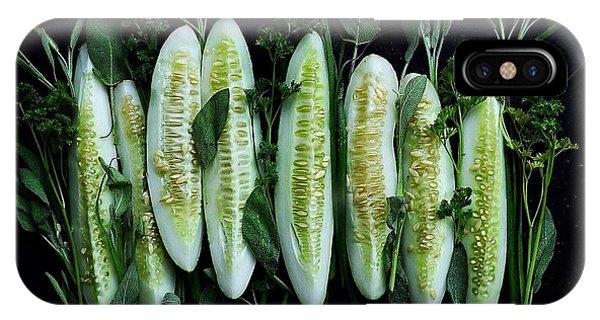 Market Cucumbers IPhone Case