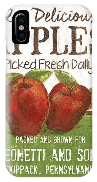 Red Fruit iPhone Case - Market Fruit 2 by Debbie DeWitt