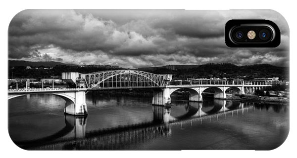 Market Street Bridge In Black And White IPhone Case