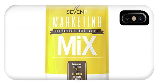 Ingredient iPhone Case - Marketing Mix 7 P's by Allan Swart