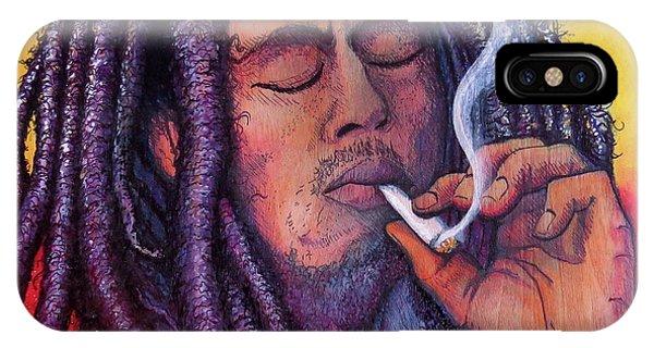Marley Smoking IPhone Case